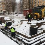 В Приморском районе города ремонт тепловых сетей закончат раньше срока