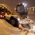 Дорожники Санкт- Петербурга отправятся на уборку до 1,5 см снега