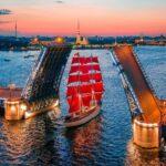 Троицкий мост в Петербурге разведут почти на шесть часов для подготовки к «Алым парусам»