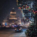 Расходы на новогоднее оформление Петербурга достигнут 369 млн рублей
